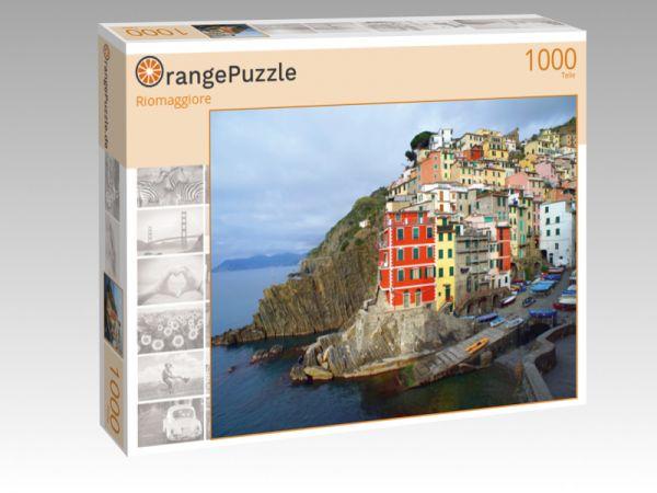 "Puzzle Motiv ""Riomaggiore"" - Puzzle-Schachtel zu 1000 Teile Puzzle"