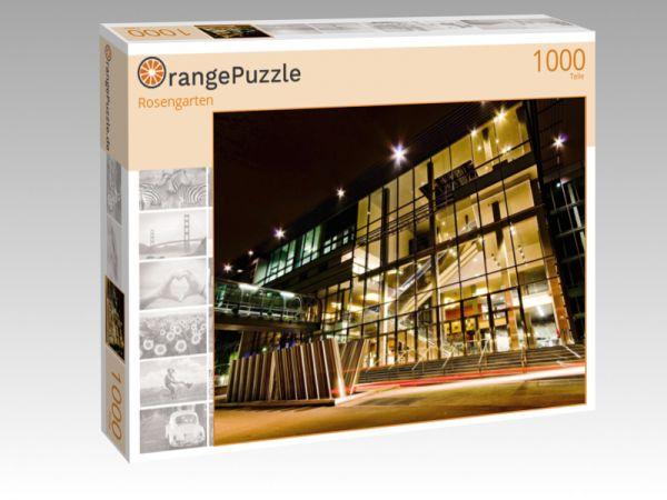 """Puzzle Motiv """"Rosengarten"""" - Puzzle-Schachtel zu 1000 Teile Puzzle"""