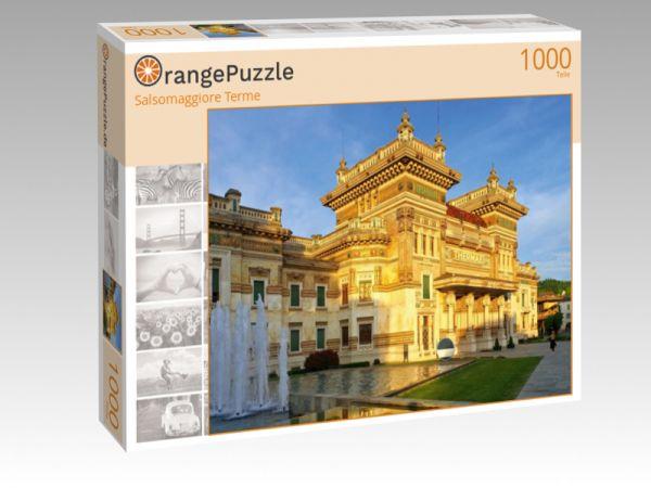 """Puzzle Motiv """"Salsomaggiore Terme"""" - Puzzle-Schachtel zu 1000 Teile Puzzle"""