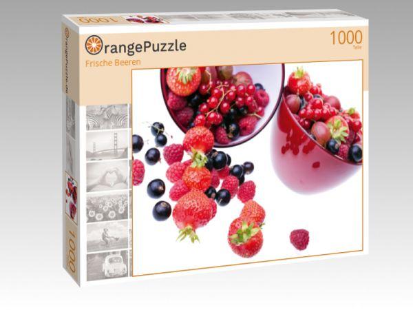 """Puzzle Motiv """"Frische Beeren"""" - Puzzle-Schachtel zu 1000 Teile Puzzle"""