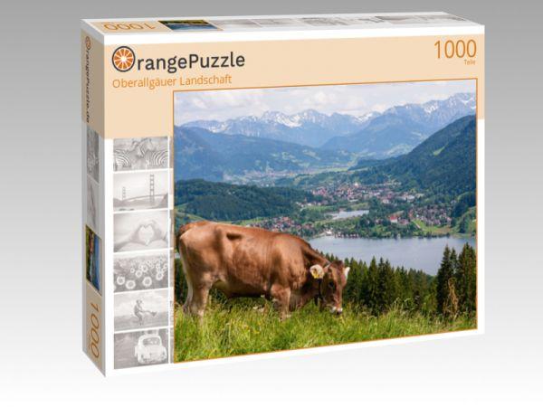 """Puzzle Motiv """"Oberallgäuer Landschaft"""" - Puzzle-Schachtel zu 1000 Teile Puzzle"""