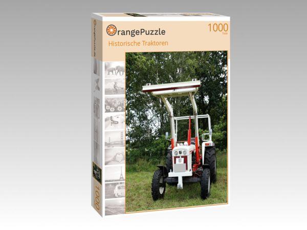 """Puzzle Motiv """"Historische Traktoren"""" - Puzzle-Schachtel zu 1000 Teile Puzzle"""