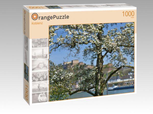 """Puzzle Motiv """"Koblenz"""" - Puzzle-Schachtel zu 1000 Teile Puzzle"""
