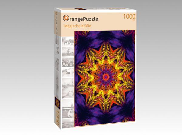 """Puzzle Motiv """"Magische Kräfte"""" - Puzzle-Schachtel zu 1000 Teile Puzzle"""