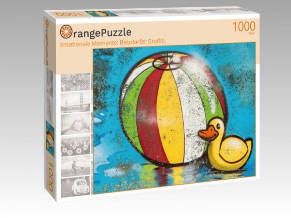 """Puzzle Motiv """"Emotionale Momente: Betzdorfer Graffiti."""" - Puzzle-Schachtel zu 1000 Teile Puzzle"""