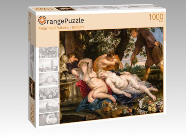 """Puzzle Motiv """"Peter Paul Rubens - Rubens"""" - Puzzle-Schachtel zu 1000 Teile Puzzle"""