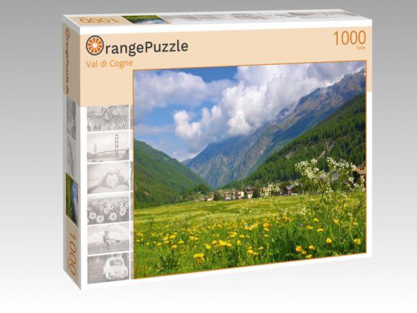 """Puzzle Motiv """"Val di Cogne"""" - Puzzle-Schachtel zu 1000 Teile Puzzle"""
