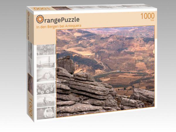 """Puzzle Motiv """"In den Bergen bei Antequera"""" - Puzzle-Schachtel zu 1000 Teile Puzzle"""