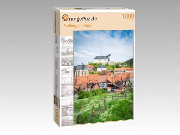 "Puzzle Motiv ""Stolberg im Harz"" - Puzzle-Schachtel zu 1000 Teile Puzzle"