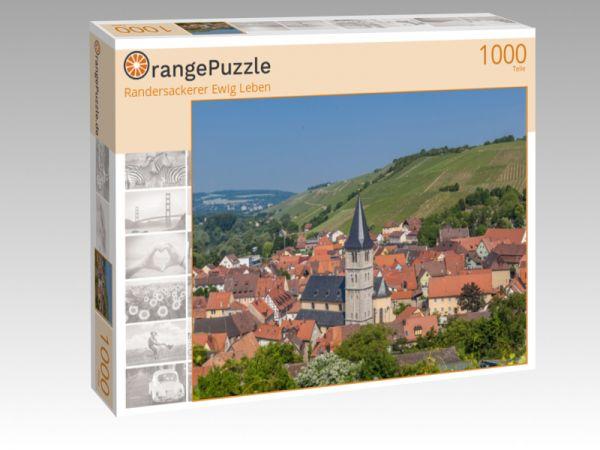 """Puzzle Motiv """"Randersackerer Ewig Leben"""" - Puzzle-Schachtel zu 1000 Teile Puzzle"""