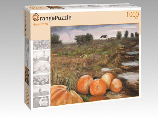 """Puzzle Motiv """"Halloween"""" - Puzzle-Schachtel zu 1000 Teile Puzzle"""
