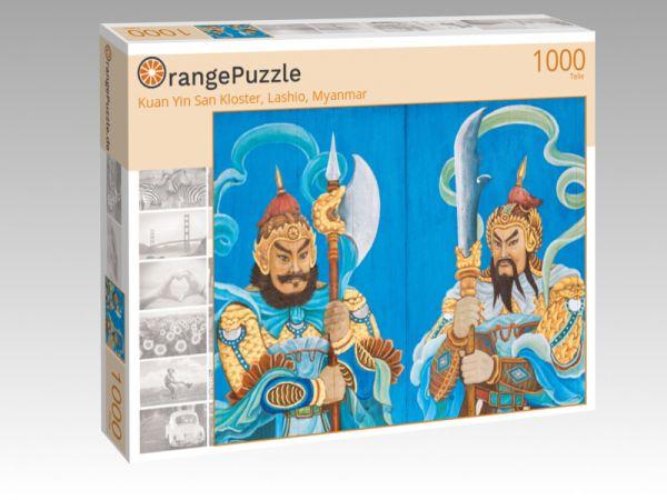 """Puzzle Motiv """"Kuan Yin San Kloster, Lashio, Myanmar"""" - Puzzle-Schachtel zu 1000 Teile Puzzle"""
