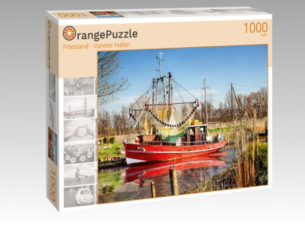 "Puzzle Motiv ""Friesland - Vareler Hafen"" - Puzzle-Schachtel zu 1000 Teile Puzzle"