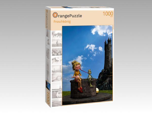 """Puzzle Motiv """"Froschkönig"""" - Puzzle-Schachtel zu 1000 Teile Puzzle"""