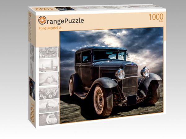"""Puzzle Motiv """"Ford Model A"""" - Puzzle-Schachtel zu 1000 Teile Puzzle"""
