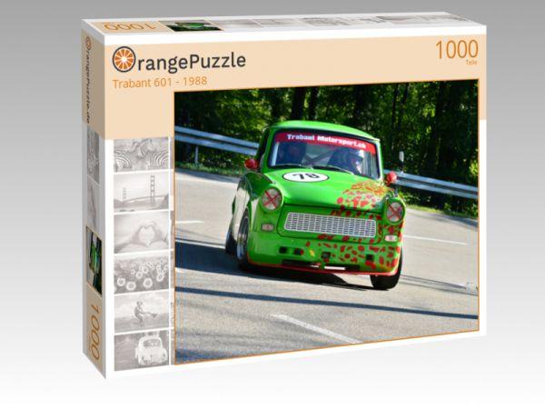 """Puzzle Motiv """"Trabant 601 - 1988"""" - Puzzle-Schachtel zu 1000 Teile Puzzle"""