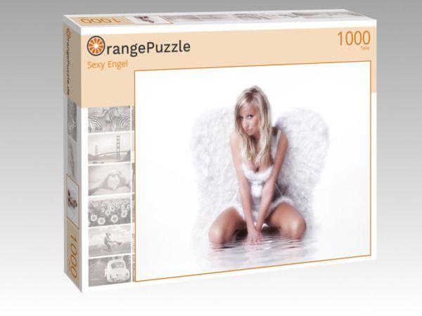 """Puzzle Motiv """"Sexy Engel"""" - Puzzle-Schachtel zu 1000 Teile Puzzle"""