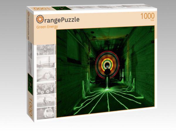 """Puzzle Motiv """"Green Energy"""" - Puzzle-Schachtel zu 1000 Teile Puzzle"""