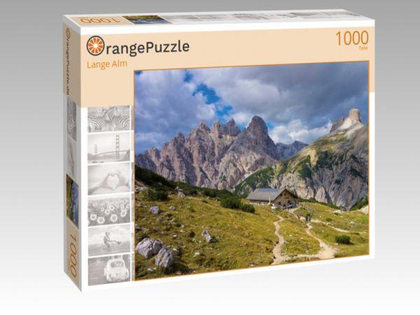 """Puzzle Motiv """"Lange Alm"""" - Puzzle-Schachtel zu 1000 Teile Puzzle"""