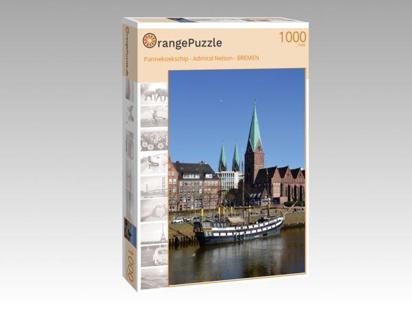 "Puzzle Motiv ""Pannekoekschip - Admiral Nelson - BREMEN"" - Puzzle-Schachtel zu 1000 Teile Puzzle"
