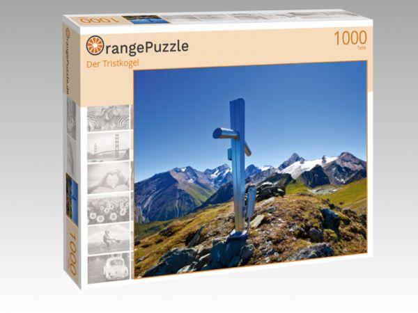 """Puzzle Motiv """"Der Tristkogel"""" - Puzzle-Schachtel zu 1000 Teile Puzzle"""