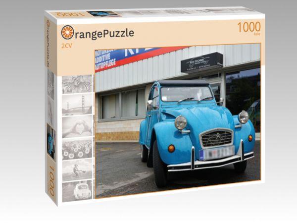 """Puzzle Motiv """"2CV"""" - Puzzle-Schachtel zu 1000 Teile Puzzle"""