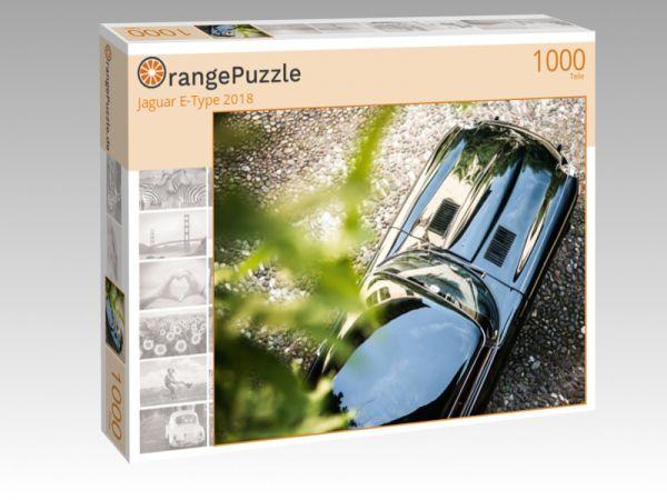 """Puzzle Motiv """"Jaguar E-Type 2018"""" - Puzzle-Schachtel zu 1000 Teile Puzzle"""