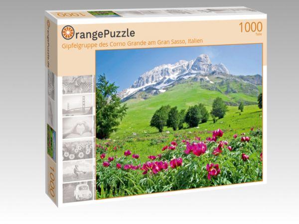 "Puzzle Motiv ""Gipfelgruppe des Corno Grande am Gran Sasso, Italien"" - Puzzle-Schachtel zu 1000 Teile Puzzle"
