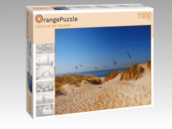 """Puzzle Motiv """"Dünen an der Nordsee"""" - Puzzle-Schachtel zu 1000 Teile Puzzle"""