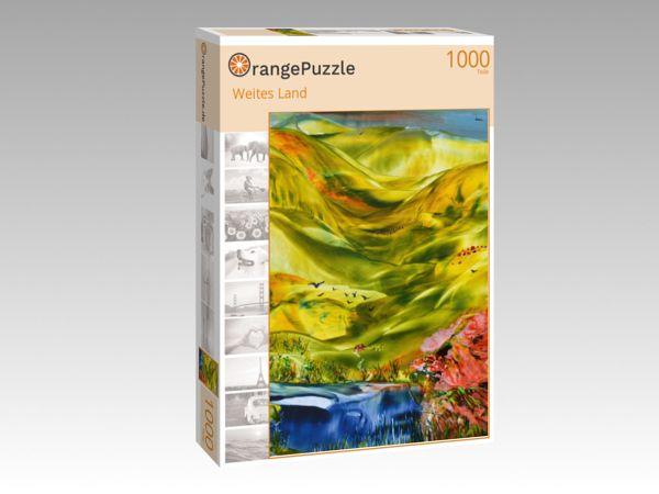 "Puzzle Motiv ""Weites Land"" - Puzzle-Schachtel zu 1000 Teile Puzzle"