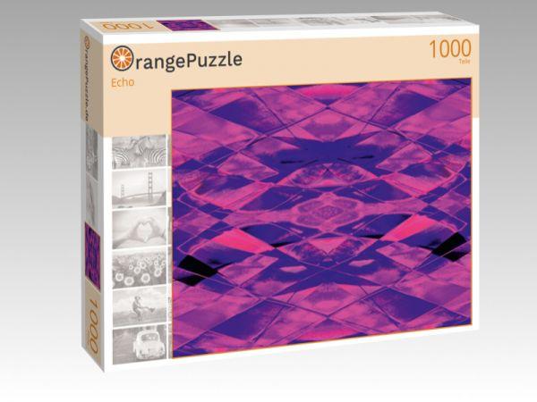 """Puzzle Motiv """"Echo"""" - Puzzle-Schachtel zu 1000 Teile Puzzle"""