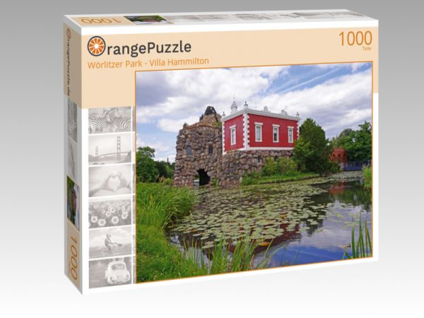 """Puzzle Motiv """"Wörlitzer Park - Villa Hammilton"""" - Puzzle-Schachtel zu 1000 Teile Puzzle"""