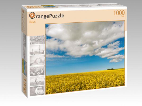 """Puzzle Motiv """"Raps"""" - Puzzle-Schachtel zu 1000 Teile Puzzle"""