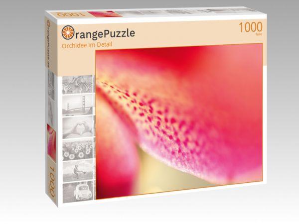 """Puzzle Motiv """"Orchidee im Detail"""" - Puzzle-Schachtel zu 1000 Teile Puzzle"""