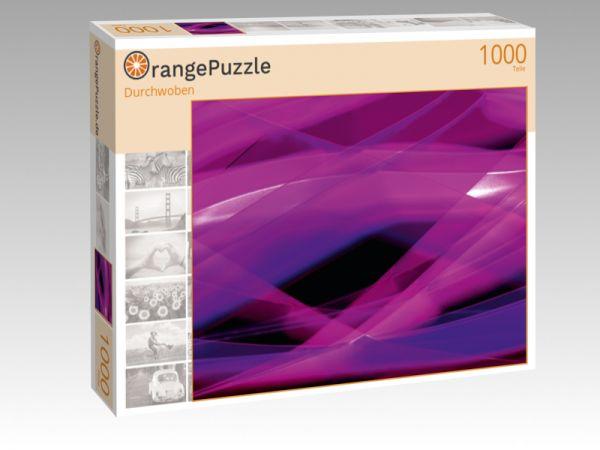 """Puzzle Motiv """"Durchwoben"""" - Puzzle-Schachtel zu 1000 Teile Puzzle"""