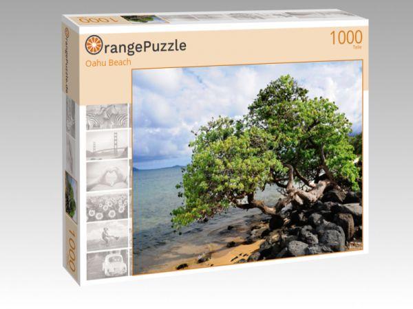 """Puzzle Motiv """"Oahu Beach"""" - Puzzle-Schachtel zu 1000 Teile Puzzle"""