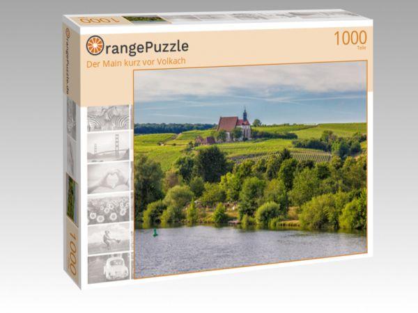 """Puzzle Motiv """"Der Main kurz vor Volkach"""" - Puzzle-Schachtel zu 1000 Teile Puzzle"""