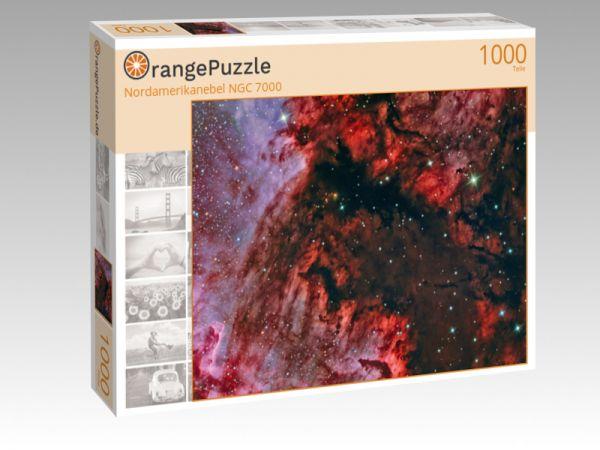 """Puzzle Motiv """"Nordamerikanebel NGC 7000"""" - Puzzle-Schachtel zu 1000 Teile Puzzle"""