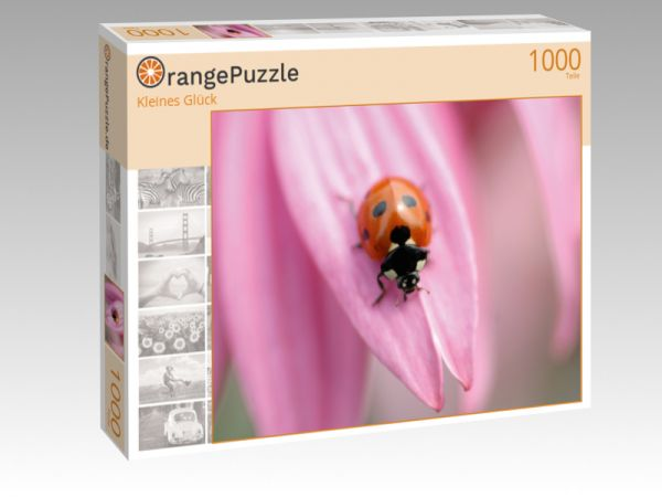 """Puzzle Motiv """"Kleines Glück"""" - Puzzle-Schachtel zu 1000 Teile Puzzle"""