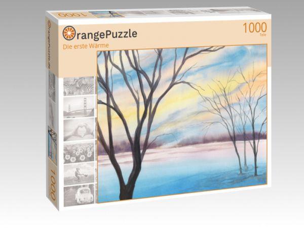 """Puzzle Motiv """"Die erste Wärme"""" - Puzzle-Schachtel zu 1000 Teile Puzzle"""