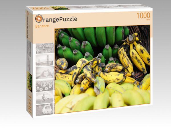 """Puzzle Motiv """"Bananen"""" - Puzzle-Schachtel zu 1000 Teile Puzzle"""