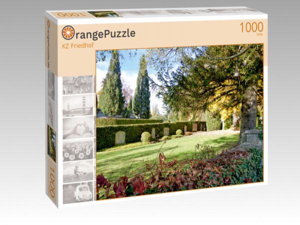 """Puzzle Motiv """"KZ Friedhof"""" - Puzzle-Schachtel zu 1000 Teile Puzzle"""