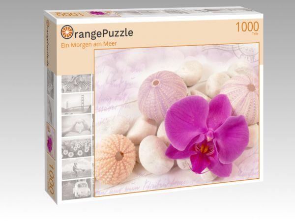 "Puzzle Motiv ""Ein Morgen am Meer"" - Puzzle-Schachtel zu 1000 Teile Puzzle"