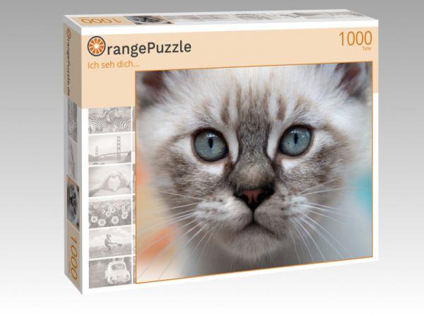 """Puzzle Motiv """"Ich seh dich..."""" - Puzzle-Schachtel zu 1000 Teile Puzzle"""