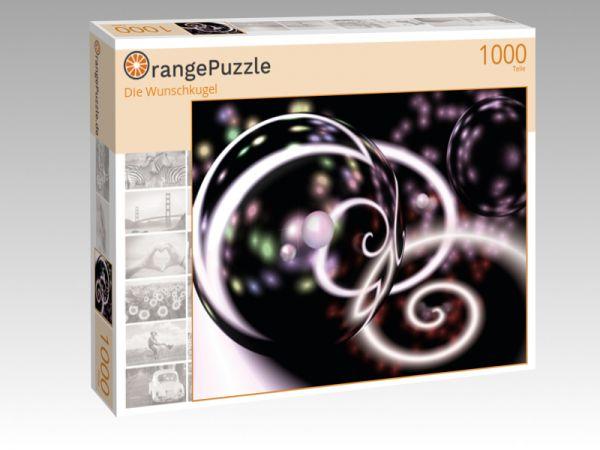 "Puzzle Motiv ""Die Wunschkugel"" - Puzzle-Schachtel zu 1000 Teile Puzzle"