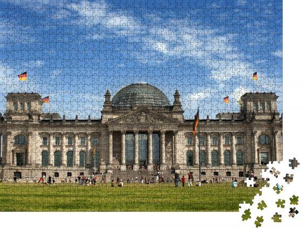"Puzzle-Motiv ""Reichstag, Berlin"" - Puzzle-Schachtel zu 1000 Teile Puzzle"