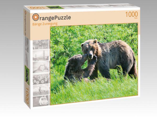 """Puzzle Motiv """"Bärige Zuneigung"""" - Puzzle-Schachtel zu 1000 Teile Puzzle"""
