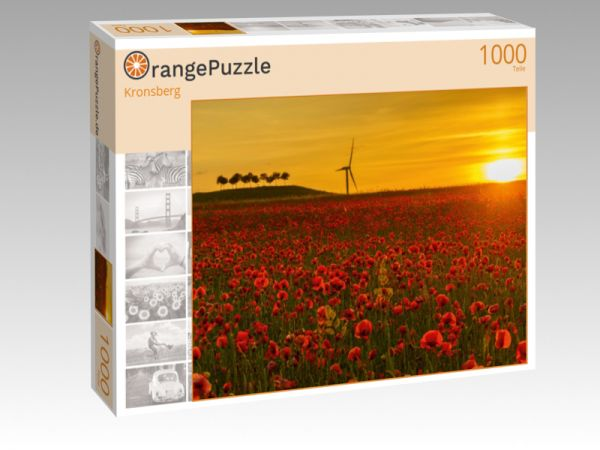 """Puzzle Motiv """"Kronsberg"""" - Puzzle-Schachtel zu 1000 Teile Puzzle"""