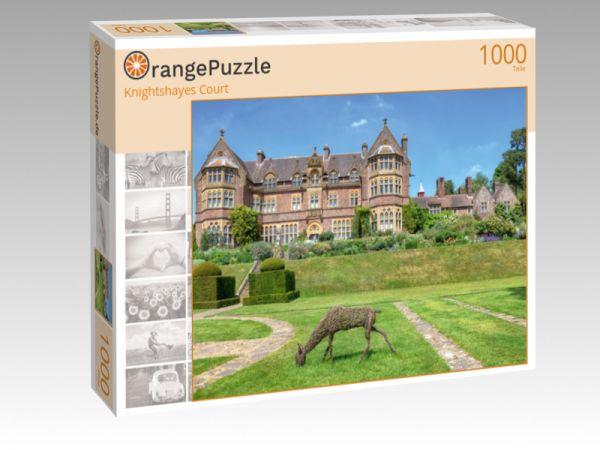 "Puzzle Motiv ""Knightshayes Court"" - Puzzle-Schachtel zu 1000 Teile Puzzle"