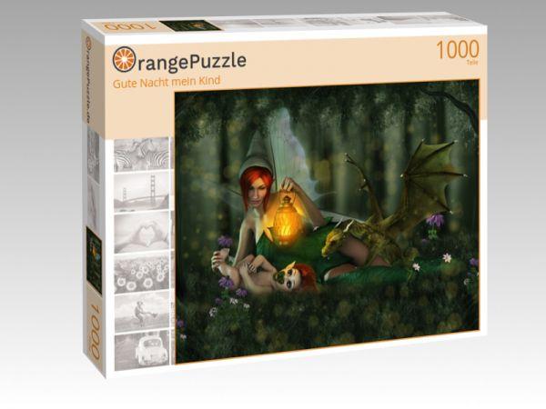 """Puzzle Motiv """"Gute Nacht mein Kind"""" - Puzzle-Schachtel zu 1000 Teile Puzzle"""